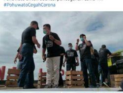 Tembus 1000 Cuitan, Tagar #PohuwatoCegahCorona Viral di Medsos