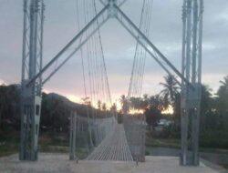 Pemilik Lokasi Pembangunan Jembatan Gantung di Popayato Tolak Uang Ganti Rugi