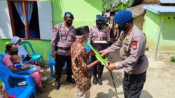 Bintara Brimob Polda Gorontalo Bedah Rumah Tak Layak Huni