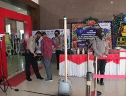 Polres Palu Jaga Keamanan Pelantikan Bupati dan Wakil Bupati Banggai