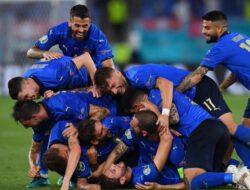 Habis-Habisan Lawan Inggris, Italia Akhirnya Angkat Piala Eropa 2020