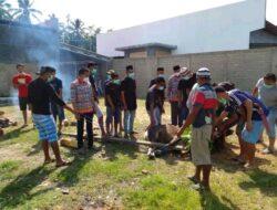 QUYTANDA Bolmut Bagikan Daging Kurban di Perayaan Iduladha