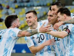 Argentina Juara Copa America 2021 usai Taklukkan Brasil dengan Skor 1-0